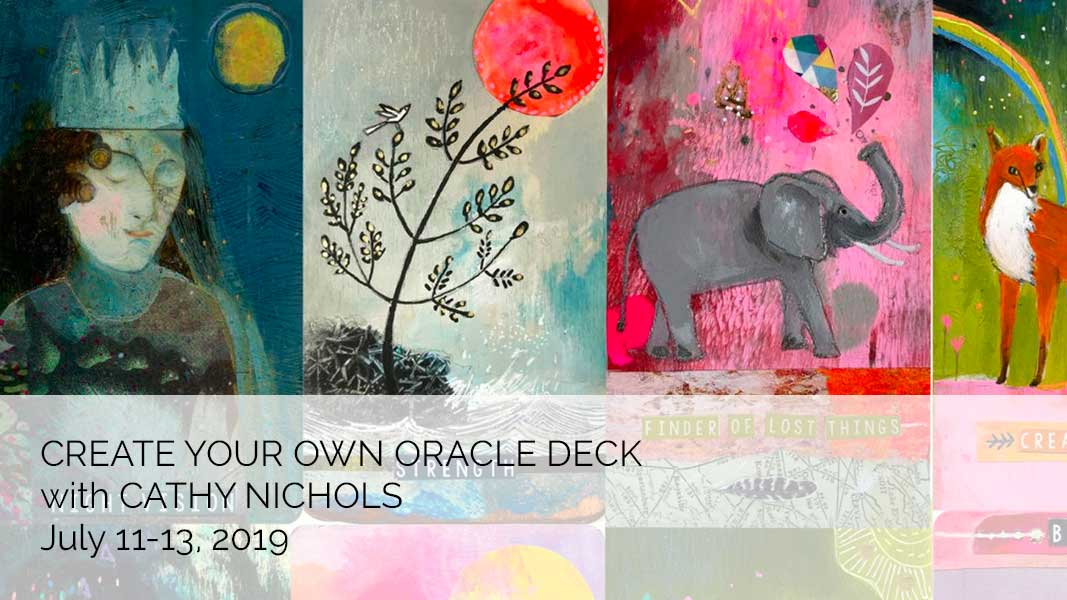 Create Your Own Oracle Deck with Cathy Nichols