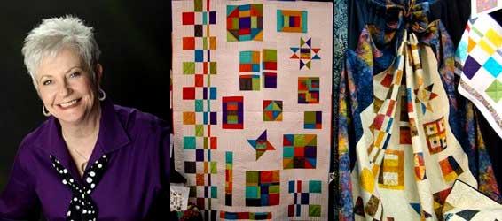 Quilting Artist Debbie Maddy