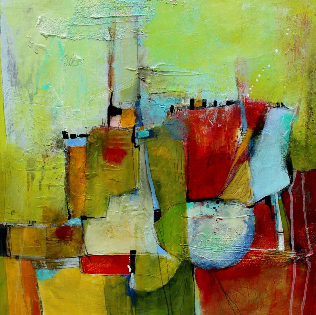 Jodi Ohl Acrylic Painting
