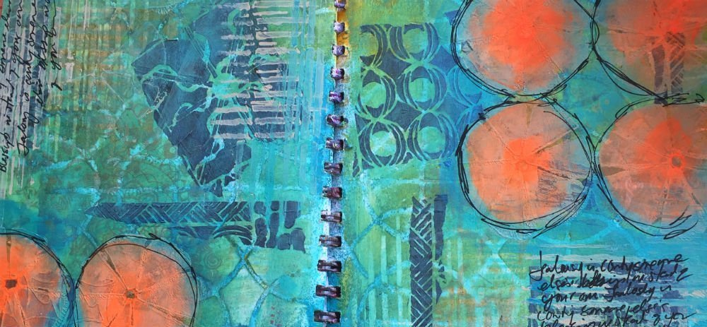 Art Journaling at Ephemera Paducah