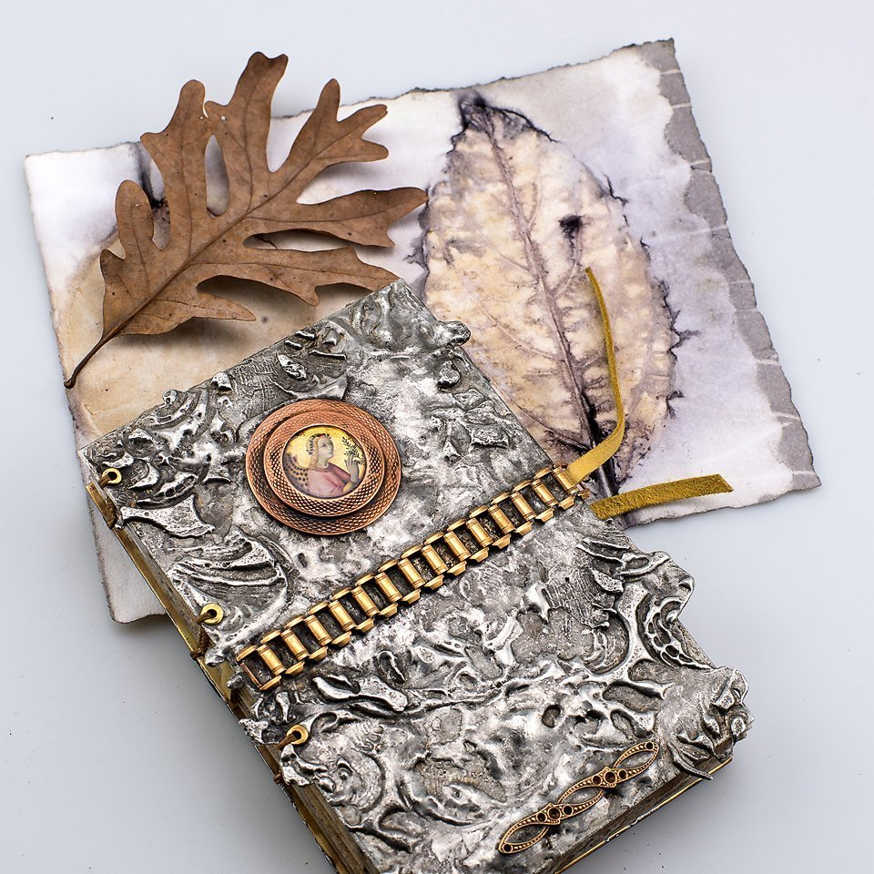 bookmaking ecoprinting