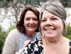 Kristin and Andrea