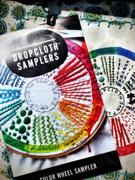 dropcloth samper