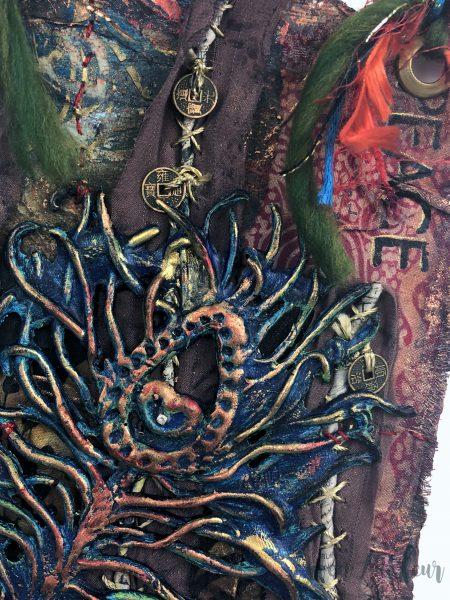 hanging art journal