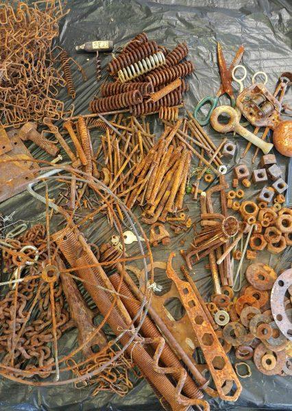 rusty bits
