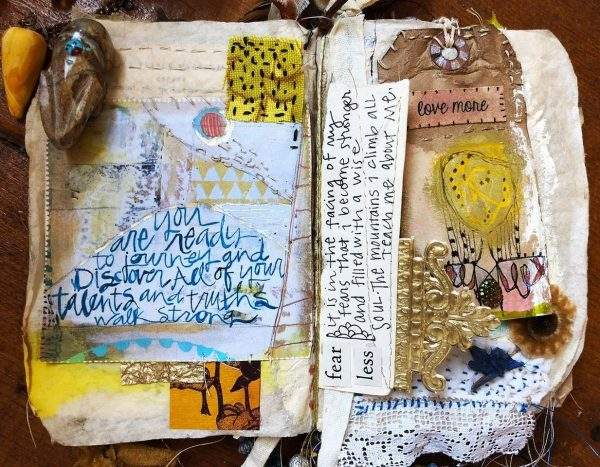 sacred stitched journals