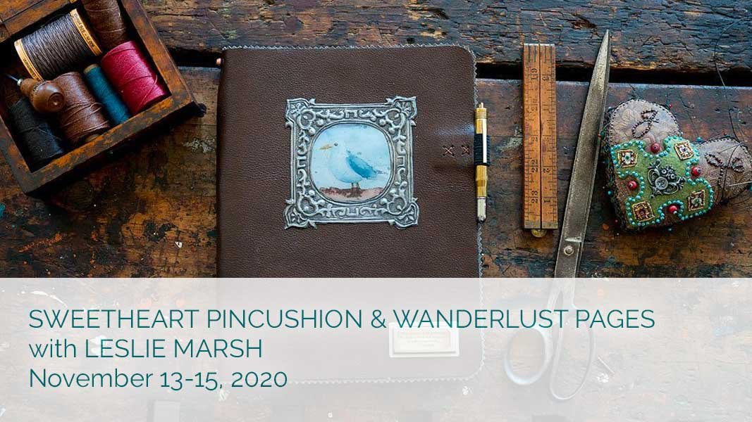 Sweetheart Pincushion and Wanderlust Pages