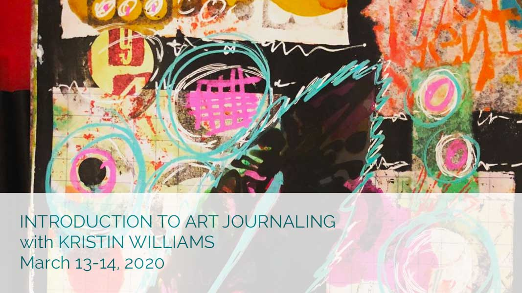 Introduction to Art Journaling with Kristin Williams
