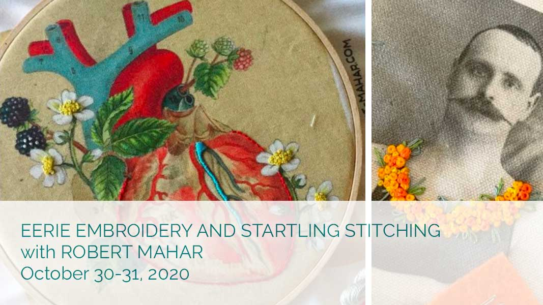 Eerie Embroidery and Startling Stitching